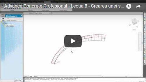Tutorial Advance Concrete Professional, Lecţia 8: Crearea unei rampe