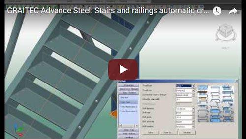 Crearea automată a scărilor şi balustradelor
