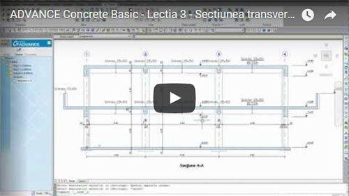 Tutorial Advance Concrete Basic, Lecţia 3: Realizarea secţiunii transversale
