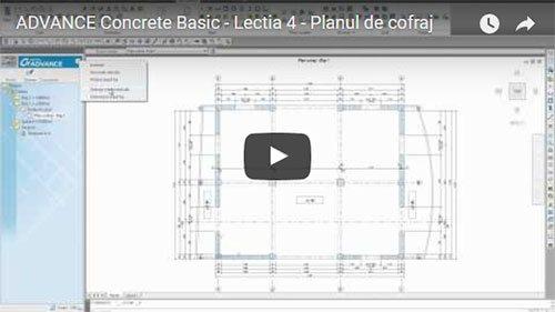 Tutorial Advance Concrete Basic, Lecţia 4: Planul de armare