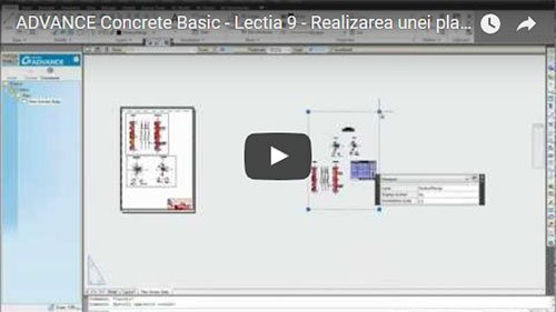 Tutorial Advance Concrete Basic, Lecţia 9: Realizarea unei planşe