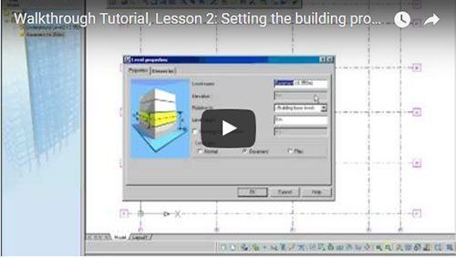 Prezentare generală Advance Concrete, Lecţia 2: Configurarea proiectului