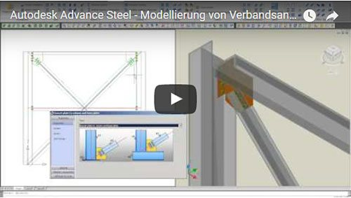 Modelarea elementelor metalice contravântuite