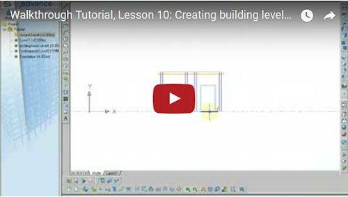 Prezentare generală Advance Concrete, Lecţia 10: Crearea etajelor