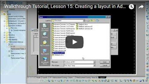 Prezentare generală Advance Concrete, Lecţia 15: Crearea unui plan