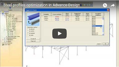 Optimizarea profilelor metalice
