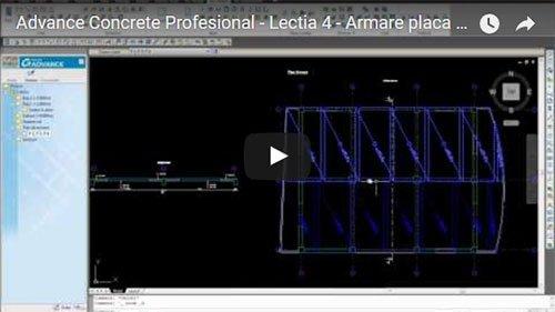 Tutorial Advance Concrete Professional, Lecţia 4: Armare placă cu plase sudate