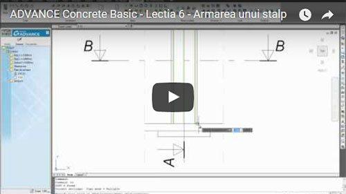 Tutorial Advance Concrete Basic, Lecţia 6: Armarea unui stâlp