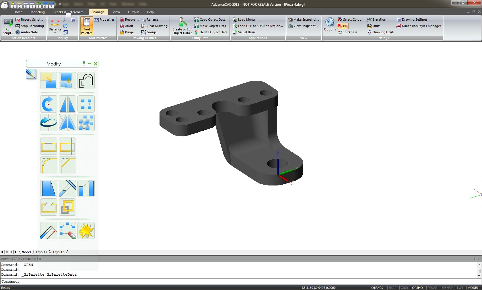 GRAITEC Advance CAD | Modelare 3D
