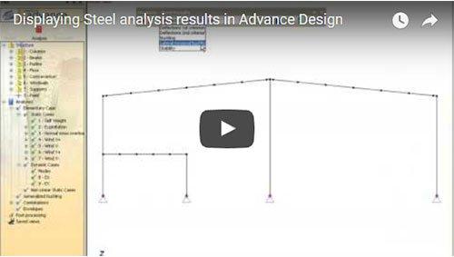 Vizualizarea rezultatelor calcului de metal