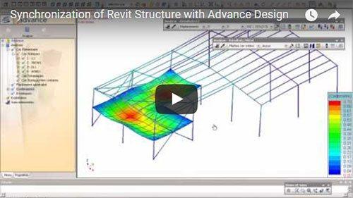 Sincronizarea unui model Autodesk Revit Structure cu modelul Advance Design