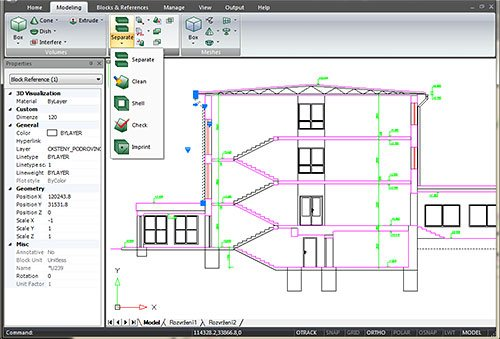 GRAITEC Advance CAD | Compatibilitate 100% cu AutoCAD®