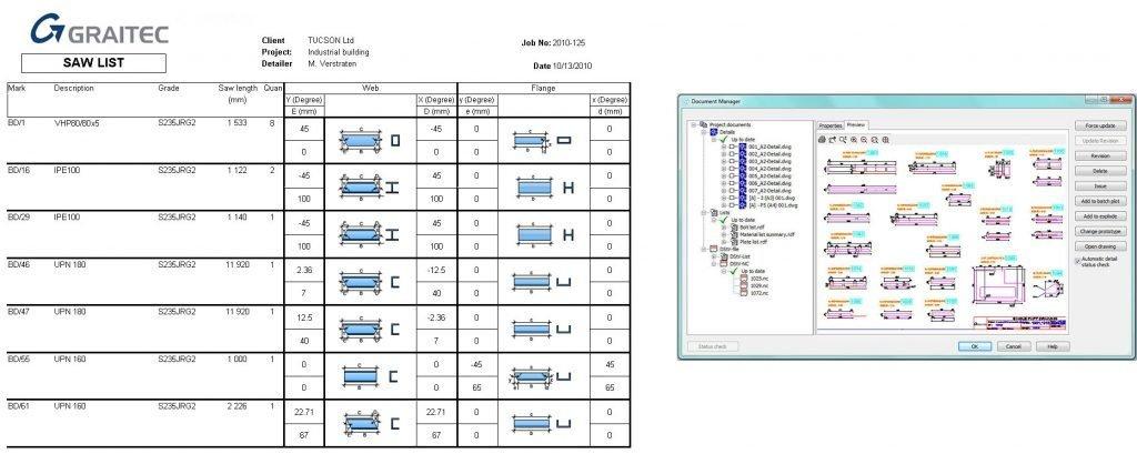 GRAITEC Autodesk Advance Steel   Gestionarea Documentelor