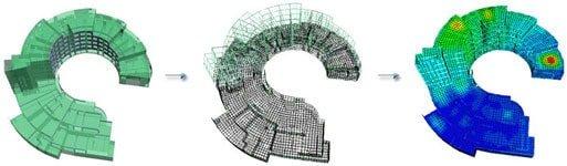 GRAITEC Advance Design | Discretizare şi calcul cu elemente finite de înaltă performanţă