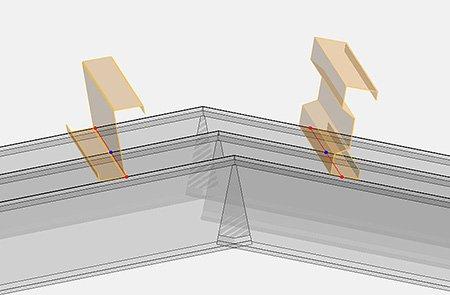 GRAITEC Advance Design 2022 - CALCUL PROFILE LAMINATE LA RECE
