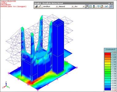 GRAITEC Advance Design | Calculul elementelor din beton armat