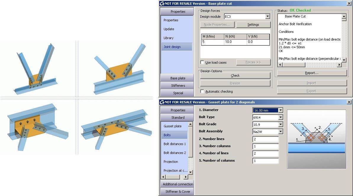 GRAITEC Autodesk Advance Steel | Eurocode 3