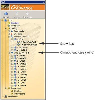 GRAITEC Advance Design | Generatorul de încărcări climatice