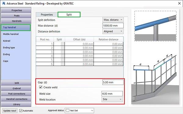 GRAITEC Advance POWERPACK PENTRU ADVANCE STEEL – INSTRUMENTE PENTRU SCĂRI & BALUSTRADE