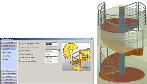 GRAITEC Autodesk Advance Steel | Scări şi Balustrade