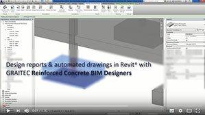 Generarera automată a armăturilor (Extrase de materiale și desene) în Revit utilizând Reinforced Concrete BIM Designers