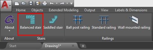 GRAITEC Advance BIM Designers   Scară balansată