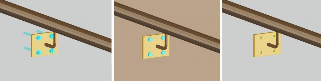 GRAITEC Advance BIM Designers | Balustradă montată pe perete