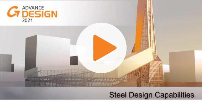 Advance Design 2021 - Steel Design Capabilities