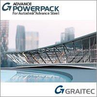 GRAITEC Advance Powerpack for Autodesk Advance Steel badge