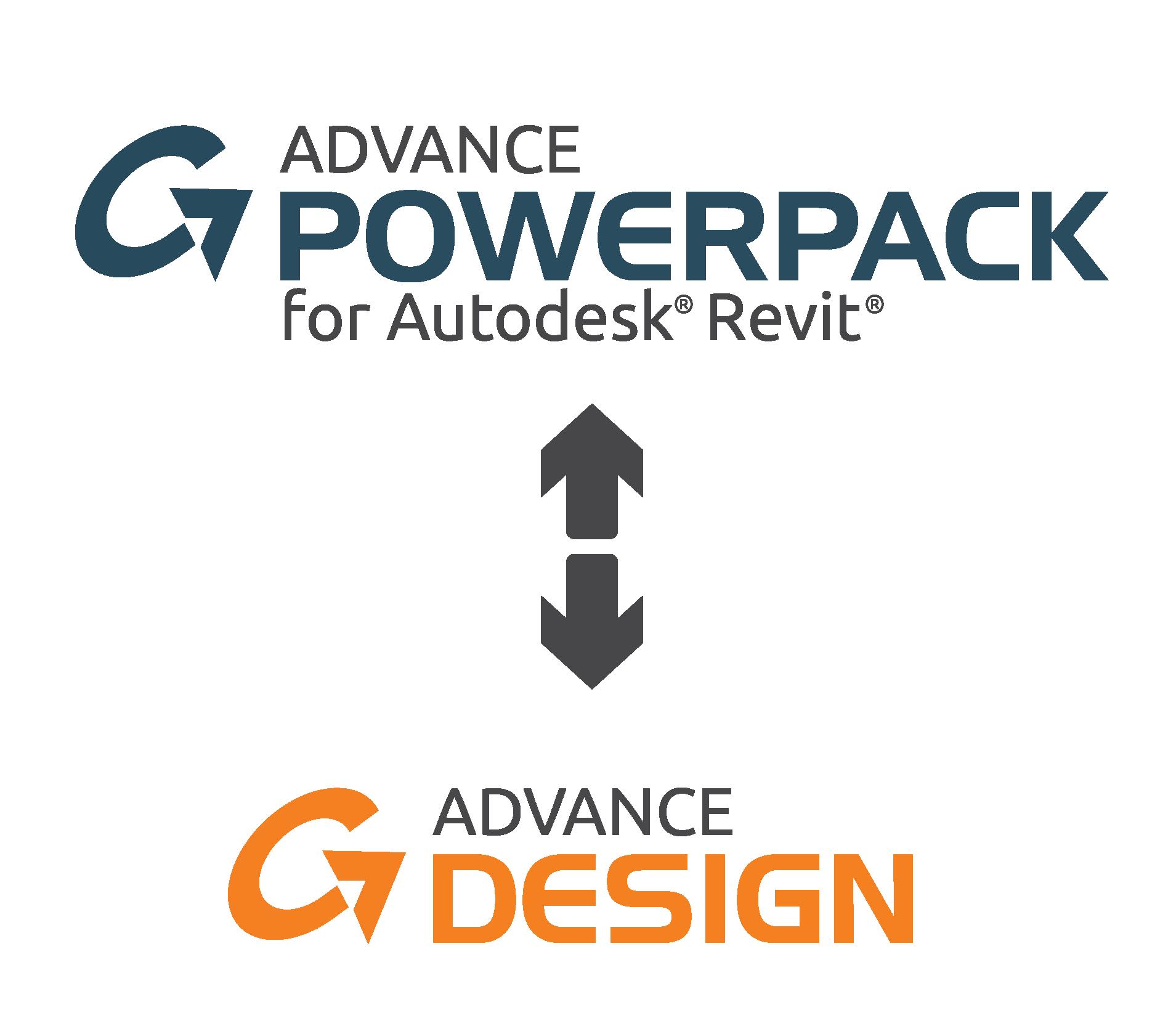 Powerpack Revit - Legătura cu Advance Design