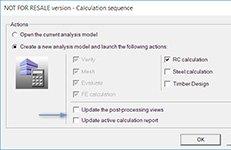 GRAITEC Advance Design - Post-procesare