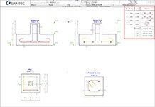 GRAITEC Advance Design - Extrase de armătură automate