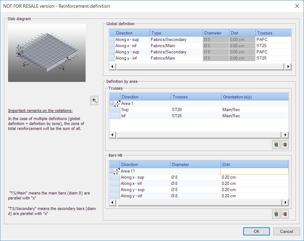 GRAITEC Advance Design - Analiza deschiderii fisurii