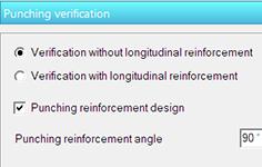 GRAITEC Advance Design - Verificare la străpungere detaliată sub plăci