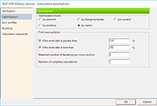GRAITEC Advance Design - Optimizare