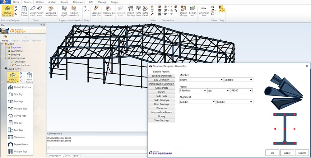 GRAITEC Advance Design - Steel Structure Designer